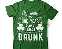 Patrick's day t shirt dersign