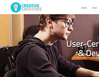 Creative Creatives Website