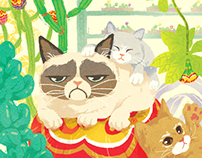 Chupa chups & Cats