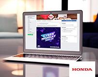 CyberMonday para Honda Argentina
