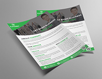Corporate Business Flyer Template | Freebie