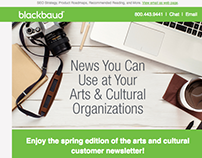 Blackbaud Newsletter Redesign