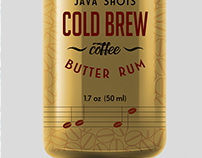 Java Shots Cold Brew Coffee