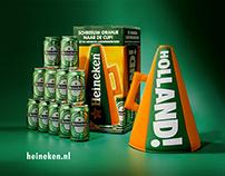 Heineken Luidsprekerhoed EK