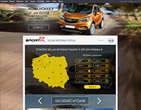 Opel Mokka page layout