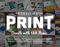 130 Print Templates Bundle - only $19