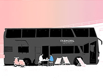 Fabmobil Reportage Illustration