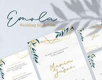 Emola Wedding Invitation