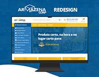 Armazena Corp - Redesign website