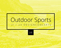 Outdoor Sports Website 2.0 | 2016