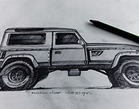 Land Rover Defender​ The Project -Long Nose