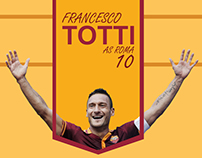 Football Player [Totti] Infographic