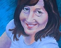'Final' Painting, Mother Portrait