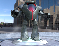 3D Animated Mech