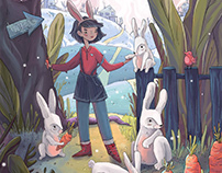 TALES FROM THE CARROT PATCH. Book concept