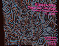 Wooden web project, Silkscreen poster