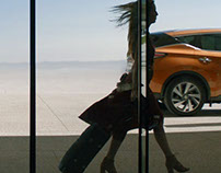 All new Nissan Murano. Life is gaining hight.