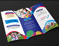 Kids trifold brochure
