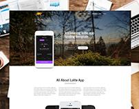 App Landing page by Saad Mahbub