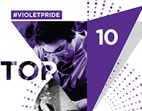 NYU Points of #VioletPride Campaign