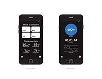 CONQUER - Triathlon Heart Rate Monitor Mockup
