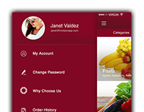 Grocery Ordering App with CMS
