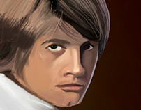 Luke Skywalker Digital Painting