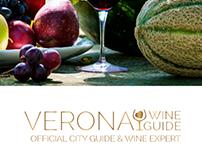 VERONA WINE GUIDE WEB SITE and BRAND IDENTITY