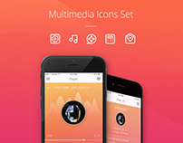 Multimedia Icons Presentation