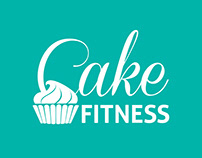 Cake Fitness logo design