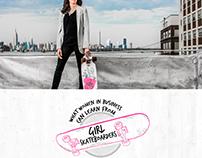 Momentum - Girl Skateboarders - Responsive Web Design