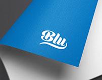 Blu identity design