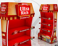Mezan Ultra Rich Tea Display Gondola