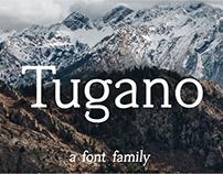 Tugano - a free serif font face