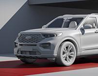 Ford Explorer 2020   CGI