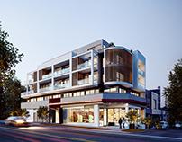 Modern house. Melbourne Australia