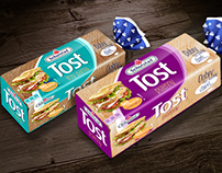 Toast bread - packaging concept