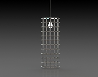 Luminaire suspendu (Inox Tower)