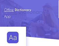 Offline Dictionary -App IOS