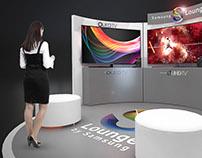 Activación de marca / Samsung Lounge