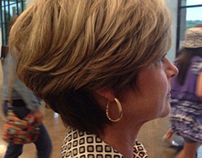 Tapered women's haircuts