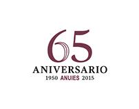 Marca del 65 Aniversario de la ANUIES