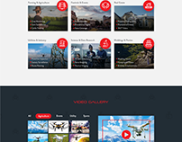 Independent Drone Services Web Design