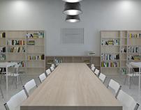 High School library renovation