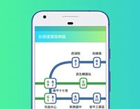 台南捷運路網圖