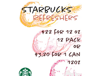Starbucks Refresher 2 page Catalog