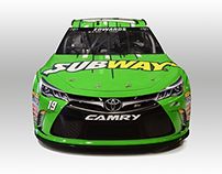 Subway | Carl Edwards #19 Paint Scheme
