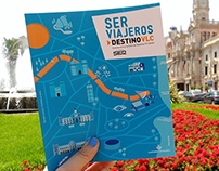 EDITORIAL design - SER Viajeros, Destino VLC. 2015