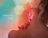 Falling You: Blush Album cover design
