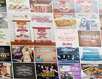 Peças publicitárias - Marketing Digital